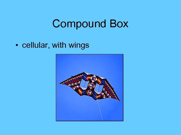 Compound Box • cellular, with wings