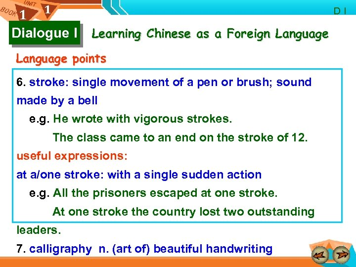 1 1 Dialogue I D I Learning Chinese as a Foreign Language points 6.