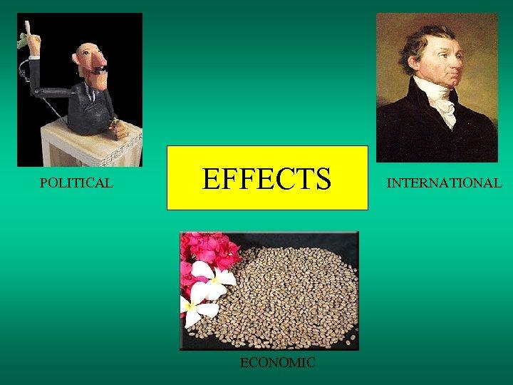 POLITICAL EFFECTS ECONOMIC INTERNATIONAL
