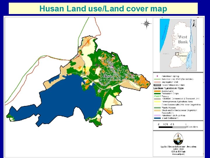 Husan Land use/Land cover map