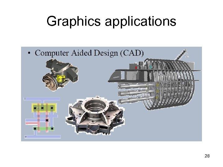 Graphics applications 28