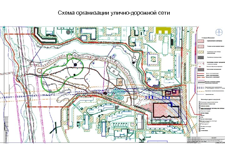 Схема организации улично-дорожной сети