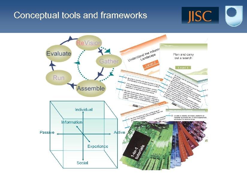 Conceptual tools and frameworks