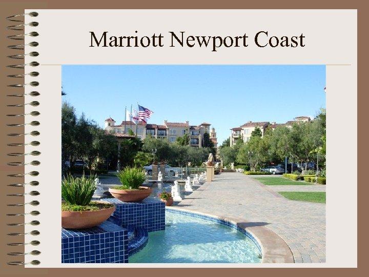 Marriott Newport Coast