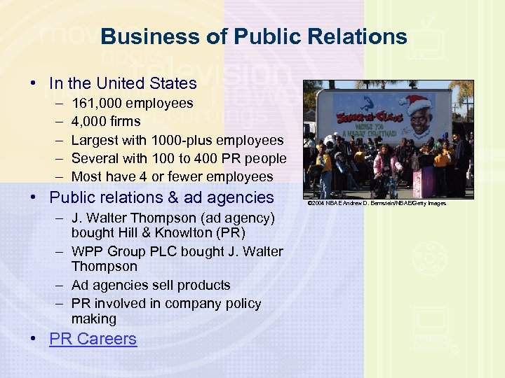 Business of Public Relations • In the United States – – – 161, 000
