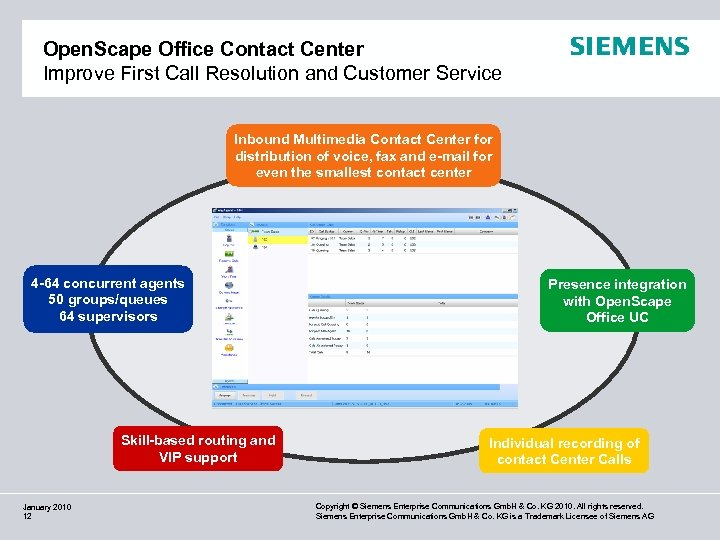 Open. Scape Office Contact Center Improve First Call Resolution and Customer Service Inbound Multimedia