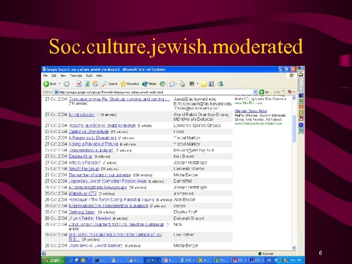 Soc. culture. jewish. moderated 6