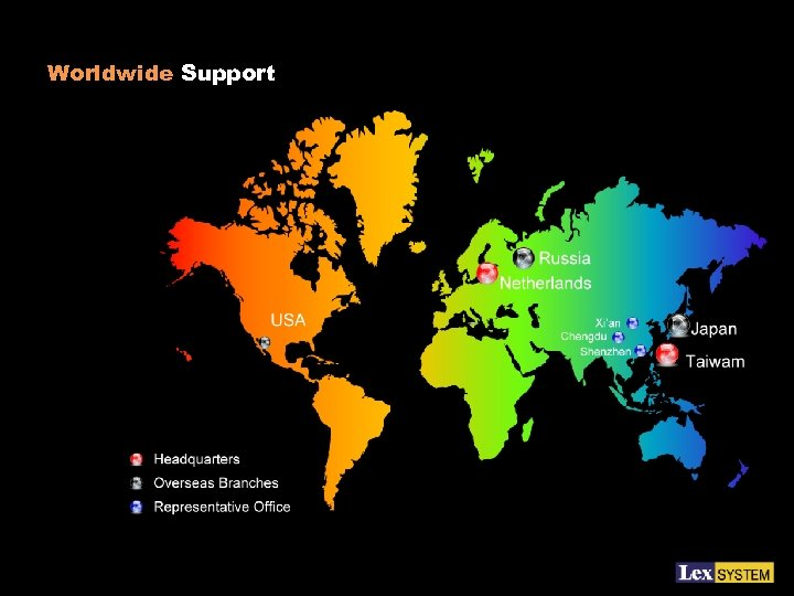 Worldwide Support