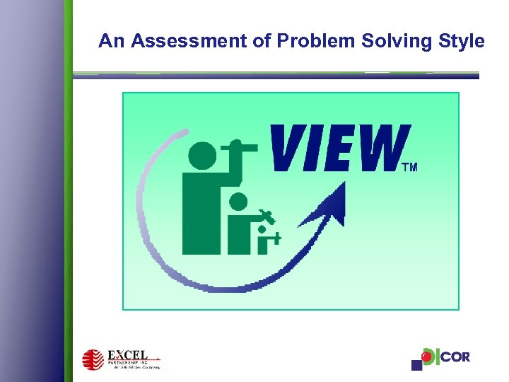 An Assessment of Problem Solving Style