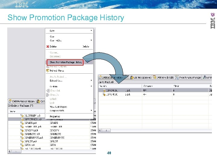 Show Promotion Package History 40