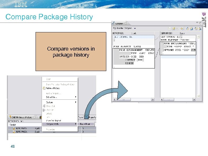 Compare Package History Compare versions in package history 41