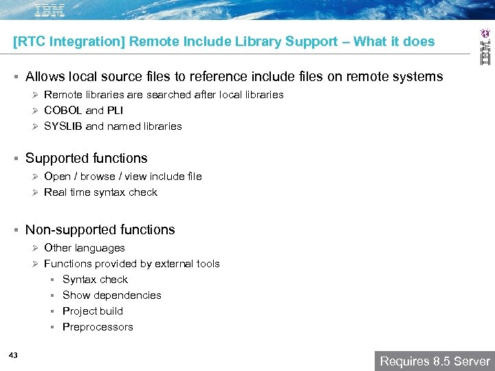 [RTC Integration] Remote Include Library Support – What it does Allows local source files