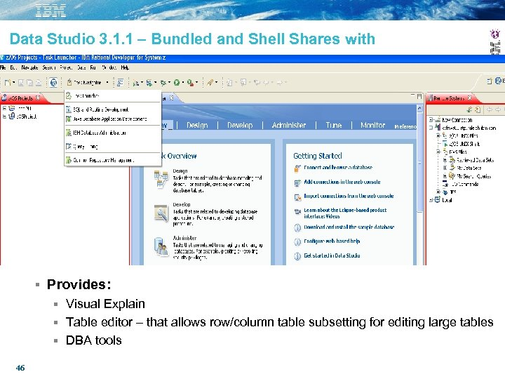 Data Studio 3. 1. 1 – Bundled and Shell Shares with Provides: Visual Explain