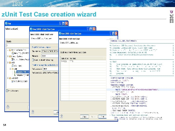 z. Unit Test Case creation wizard 51