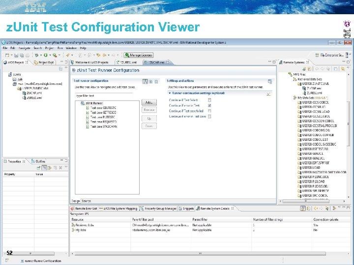 z. Unit Test Configuration Viewer 52