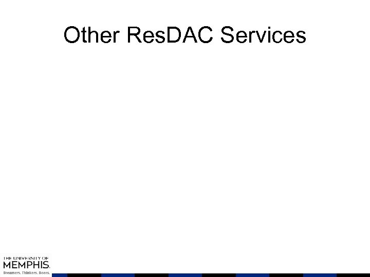 Other Res. DAC Services