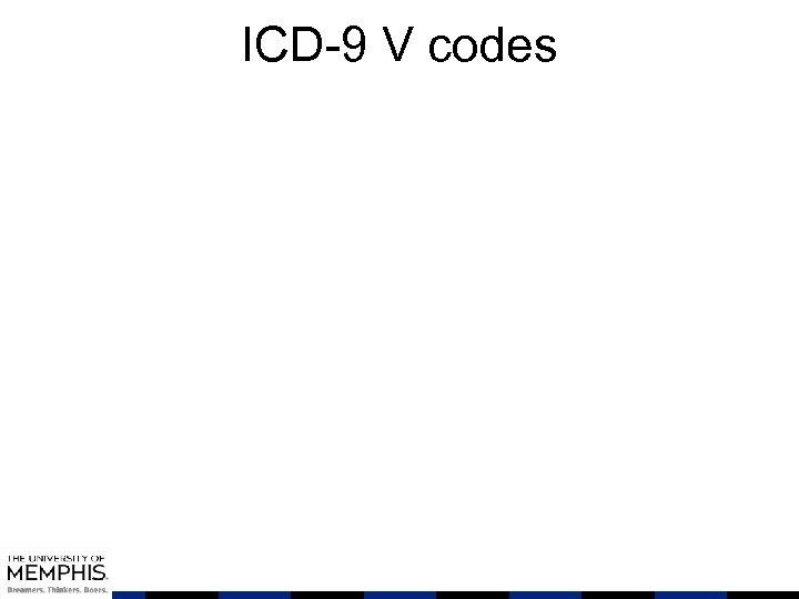ICD-9 V codes