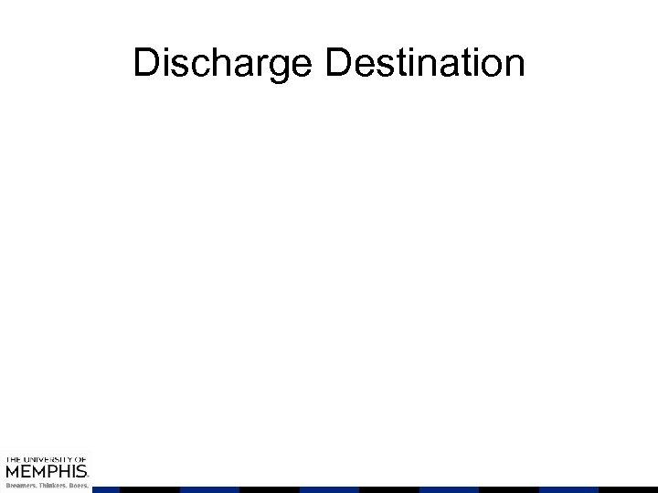 Discharge Destination
