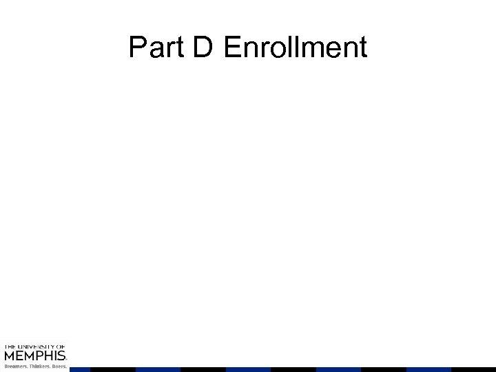 Part D Enrollment