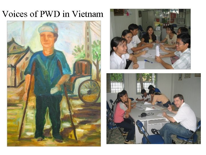 Voices of PWD in Vietnam