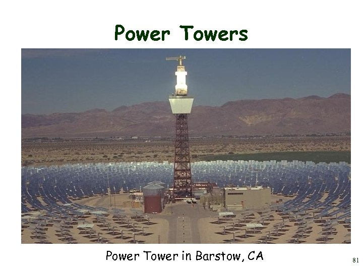 Power Towers Power Tower in Barstow, CA 81