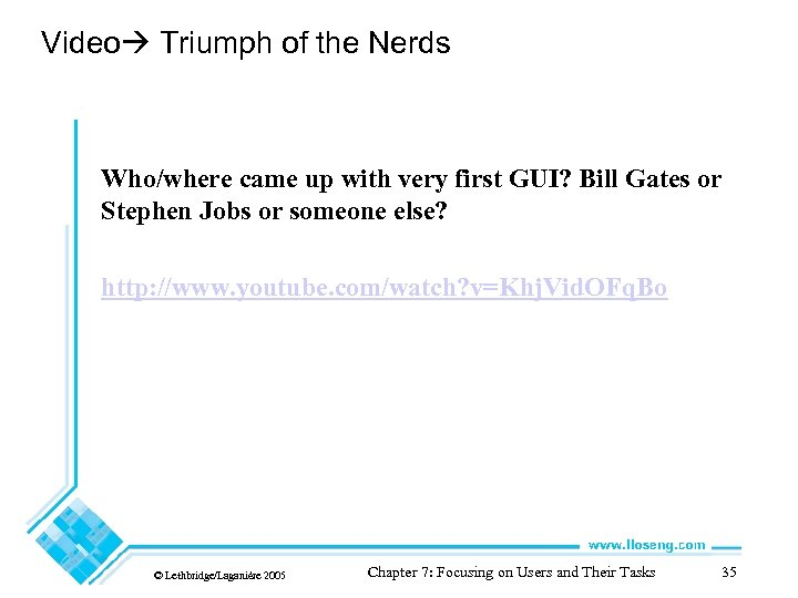 Video Triumph of the Nerds Who/where came up with very first GUI? Bill Gates