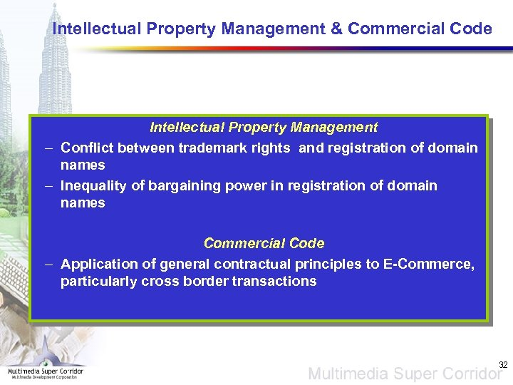 Intellectual Property Management & Commercial Code Intellectual Property Management – Conflict between trademark rights