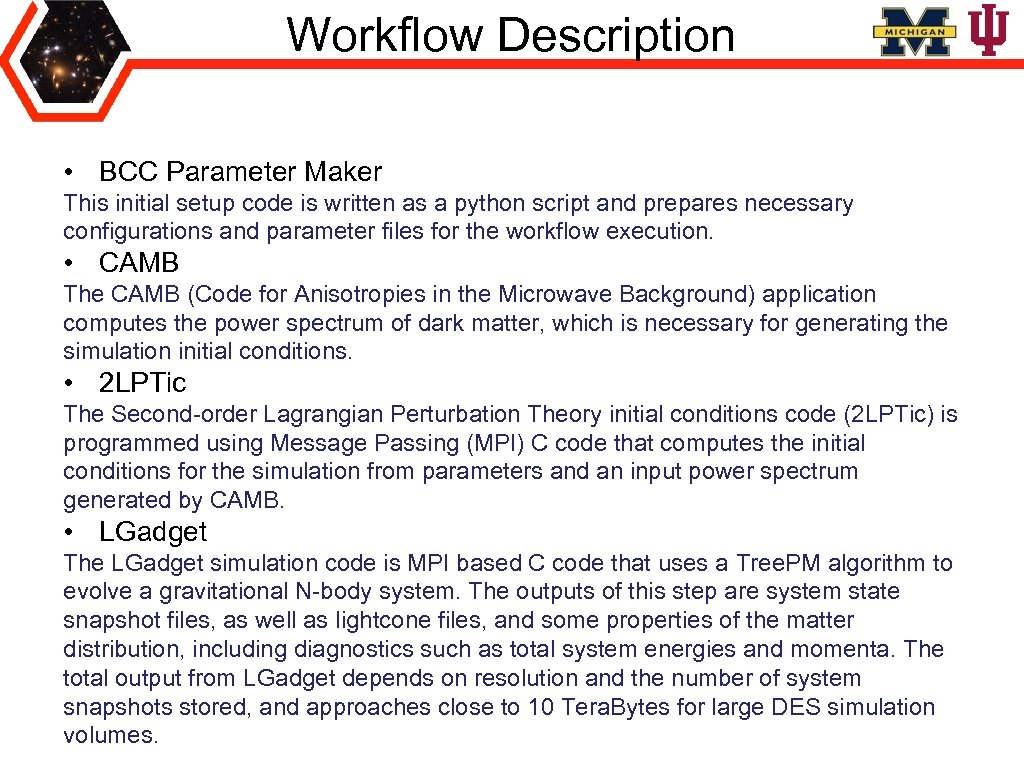 Workflow Description • BCC Parameter Maker This initial setup code is written as a