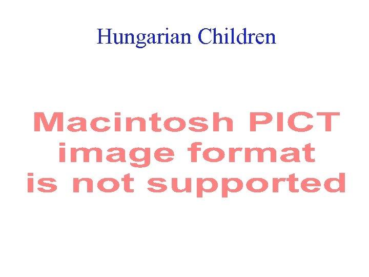Hungarian Children 18