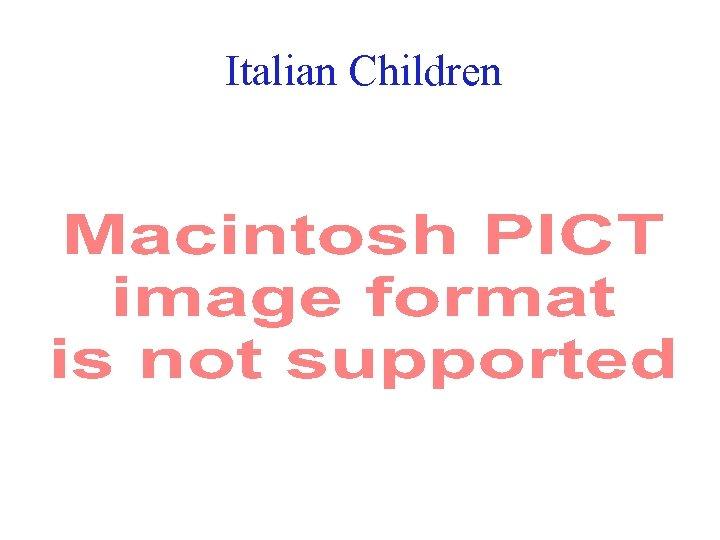 Italian Children 19