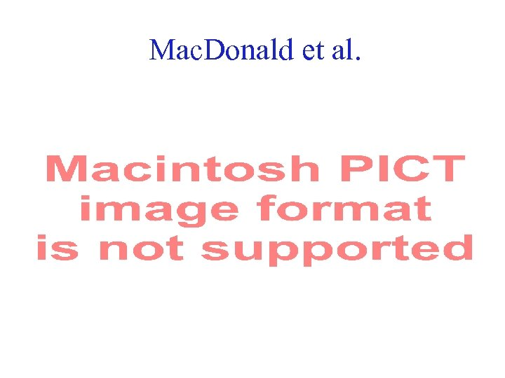 Mac. Donald et al. 50