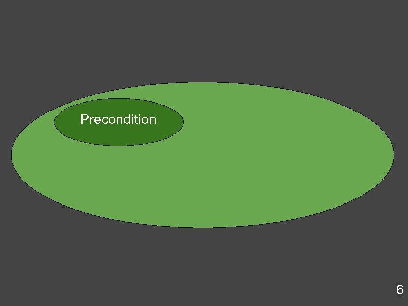Precondition 6