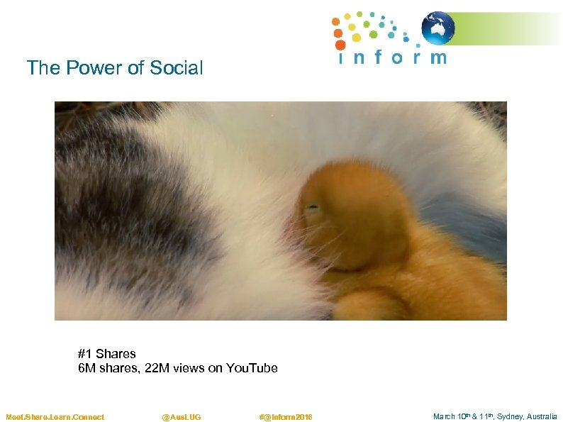The Power of Social #1 Shares 6 M shares, 22 M views on You.