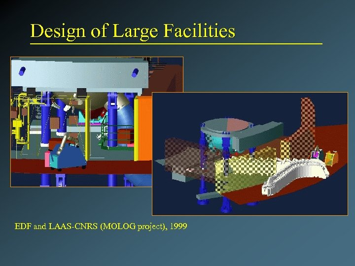 Design of Large Facilities EDF and LAAS-CNRS (MOLOG project), 1999
