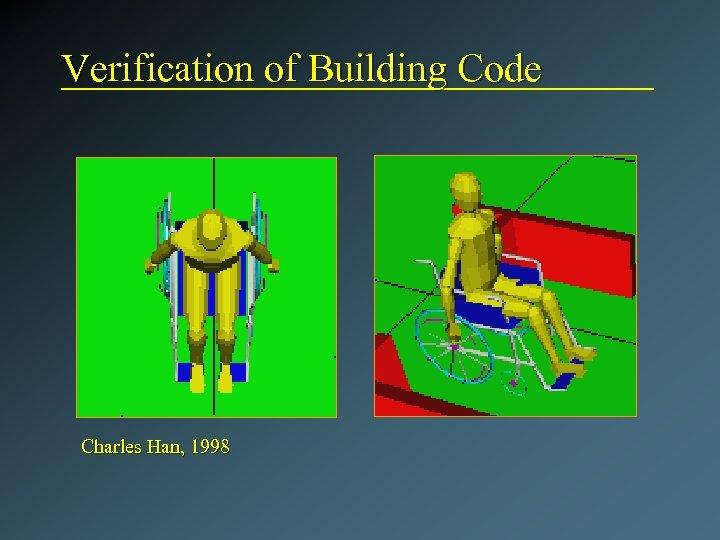 Verification of Building Code Charles Han, 1998