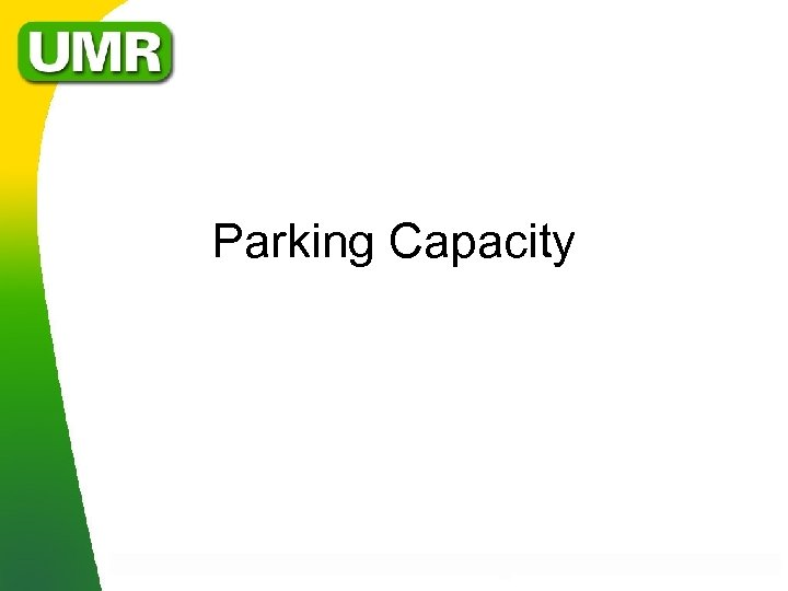 Parking Capacity