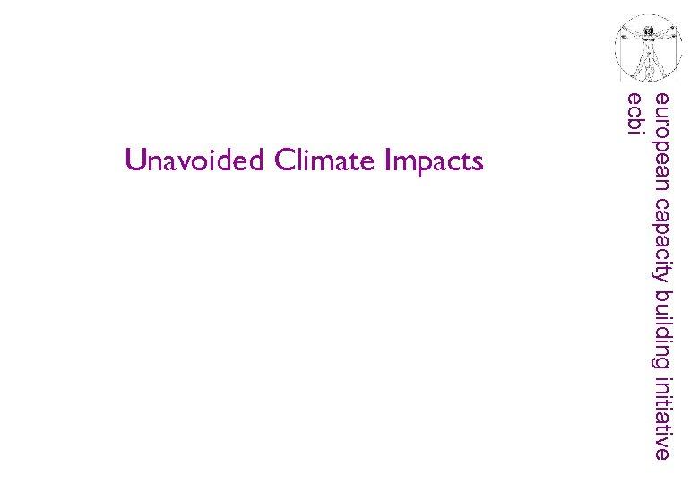 european capacity building initiative ecbi Unavoided Climate Impacts