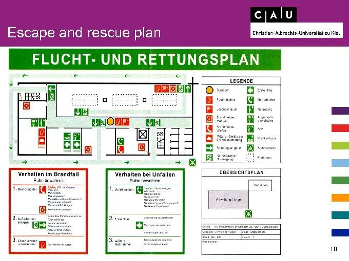 Escape and rescue plan 10