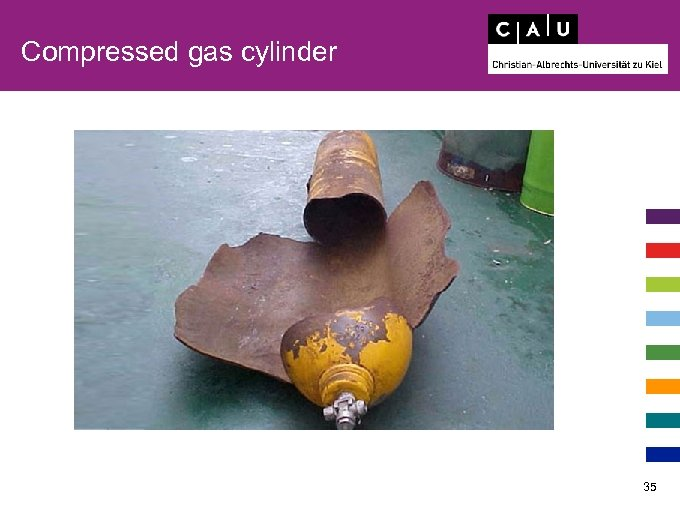 Compressed gas cylinder 35