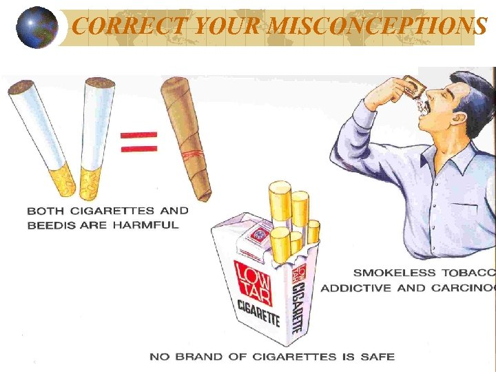 CORRECT YOUR MISCONCEPTIONS