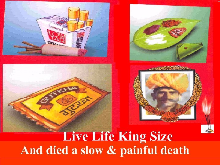 Live Life King Size And died a slow & painful death