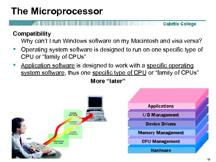 The Microprocessor Compatibility Why can't I run Windows software on my Macintosh and visa