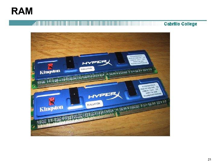 RAM 21