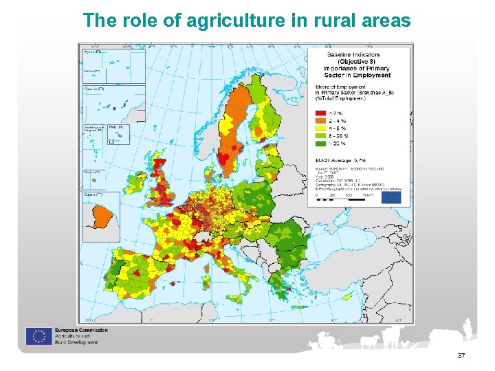 The role of agriculture in rural areas 37