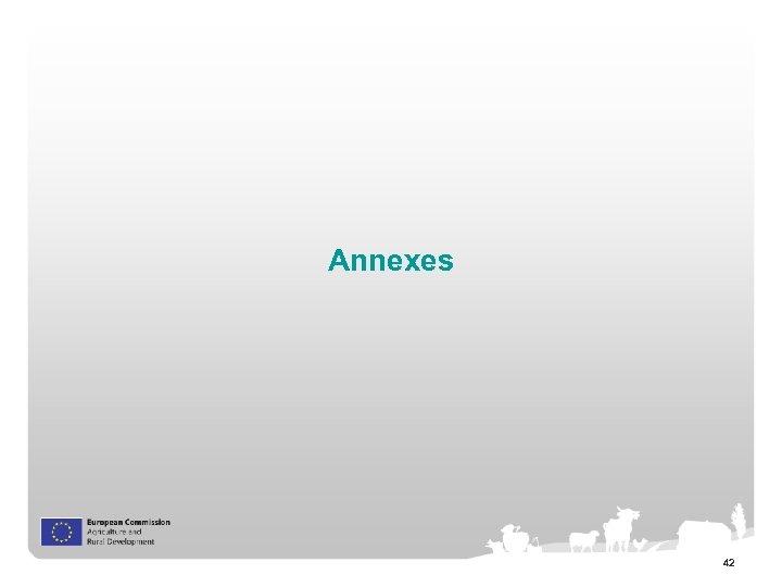 Annexes 42
