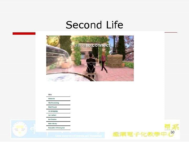 Second Life 30