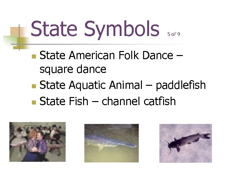 State Symbols 5 of 9 State American Folk Dance – square dance n State