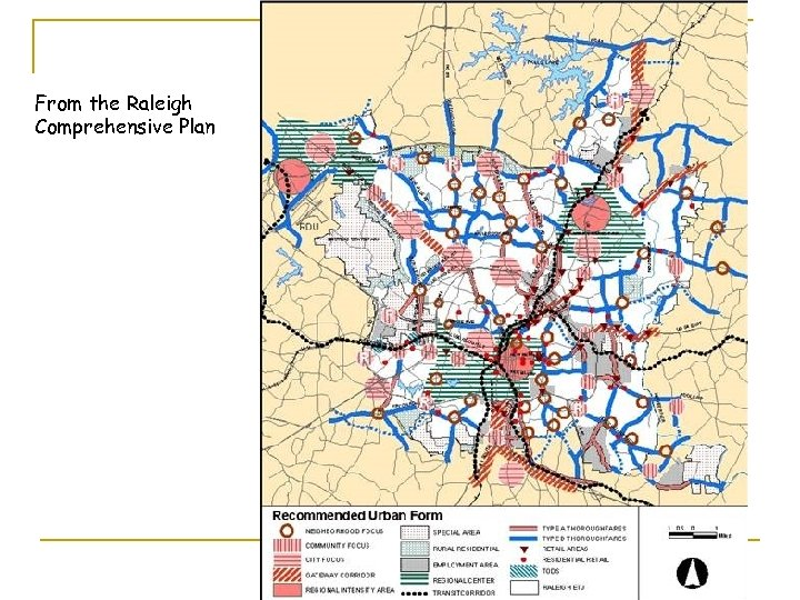 From the Raleigh Comprehensive Plan