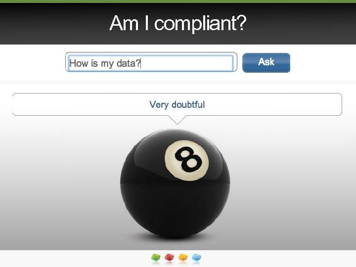 Am I compliant?