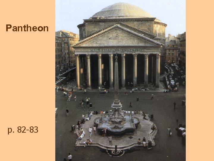 Pantheon p. 82 -83